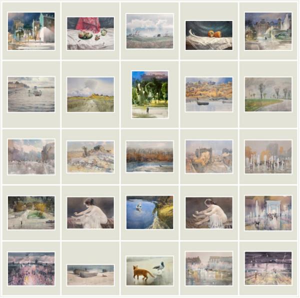 25 акварелей, Сентябрь-Октябрь-Ноябрь 2012