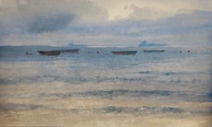Лодки на мелкой воде