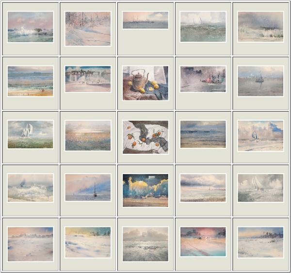 25 акварелей, Ноябрь-Декабрь 2012