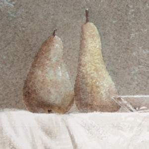 About pears pathetically
