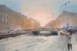 Мойка, Певческий мост