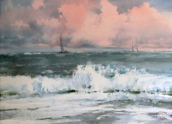 Heavy sea