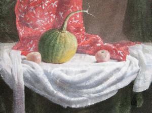 Скромный осенний натюрморт