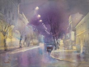 Свет ночных улиц