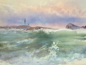 Вдоль берега, по каменистой гряде