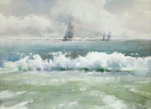 Небо, вода и яхты