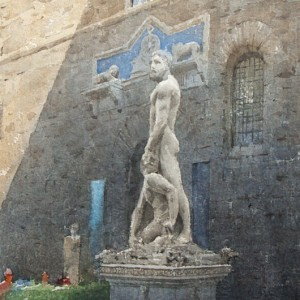 Palazzo Vecchio. The performance of Light and Shadow