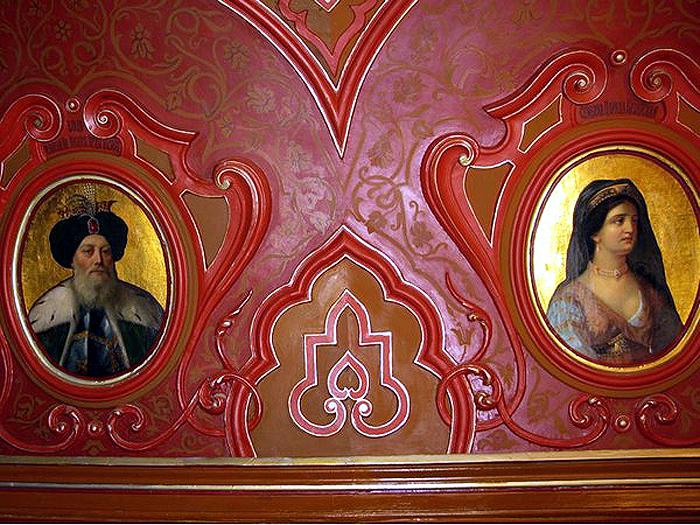 Портрет Юсуфа-Мурзы, родоначальника рода Юсуповых и портрет его любимой дочери Суюмбеки, царицы Казанской 1