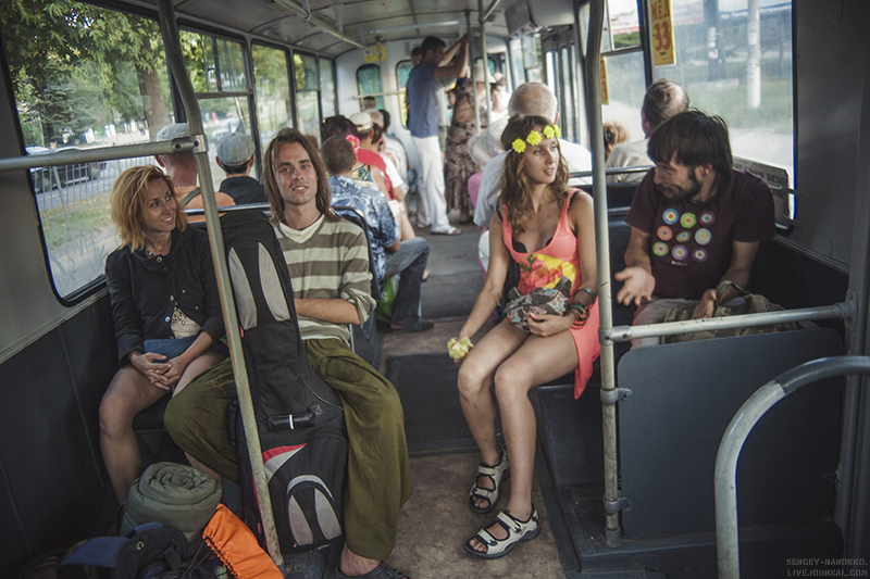 Пьяную извращенки в транспорте фото