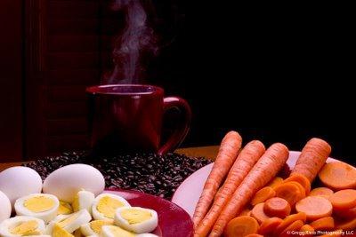 кофе морковь яйцо