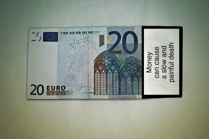 20 евро, деньги, банкнота