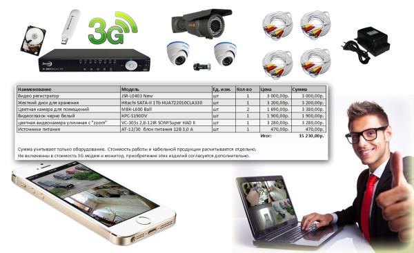 Аналоговое 3G Наблюдение копия