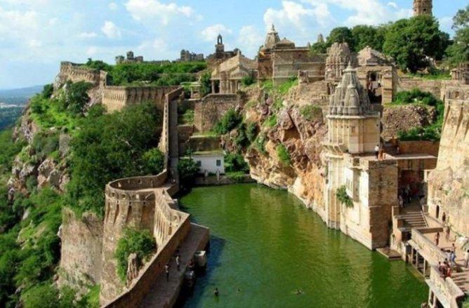 Benteng_Chittorgarh_Индия