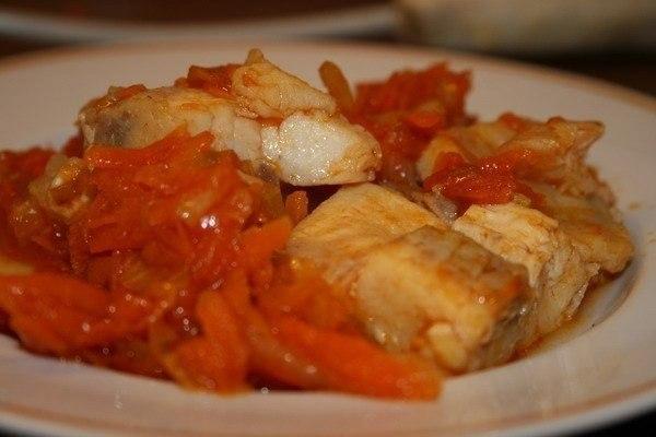 Рецепт рыбы под маринадом с морковью и луком пошагово