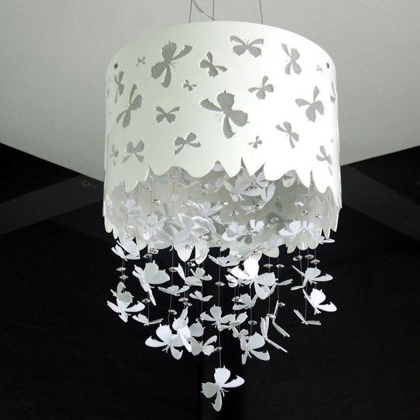 Бабочки светильник своими руками