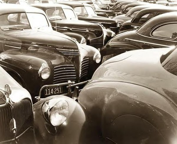 Cars in Lot