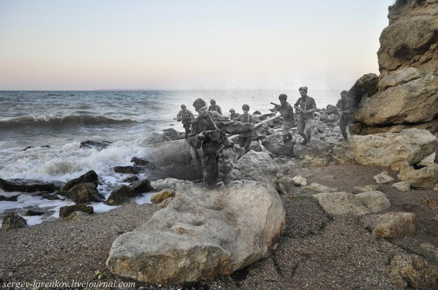 Керчь 1943/2012 Высадка морского десанта.