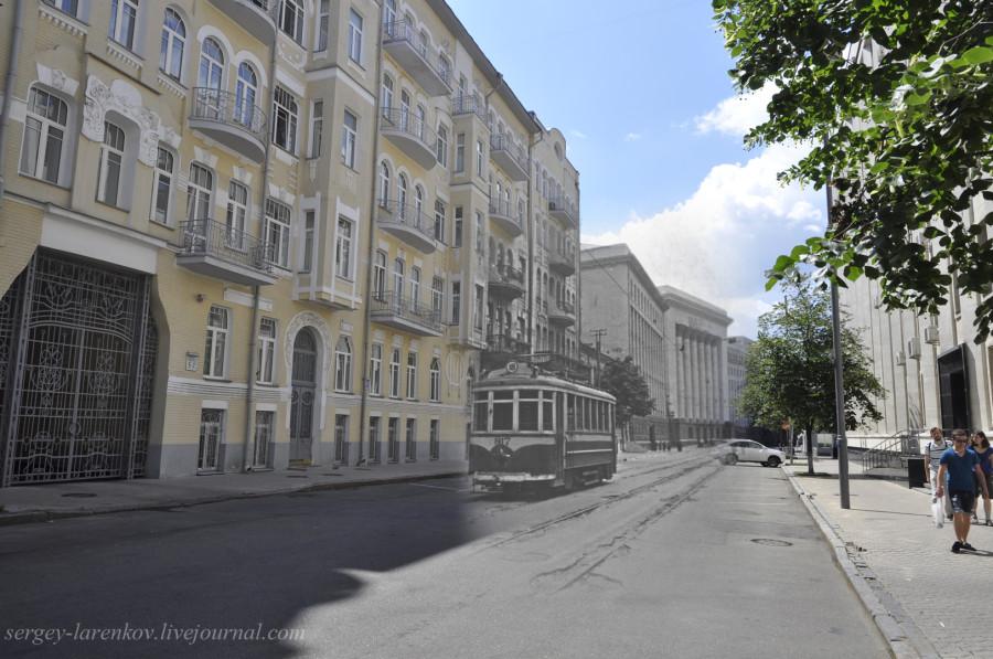 Киев 1942/2012 Трамвай в оккупированном городе.
