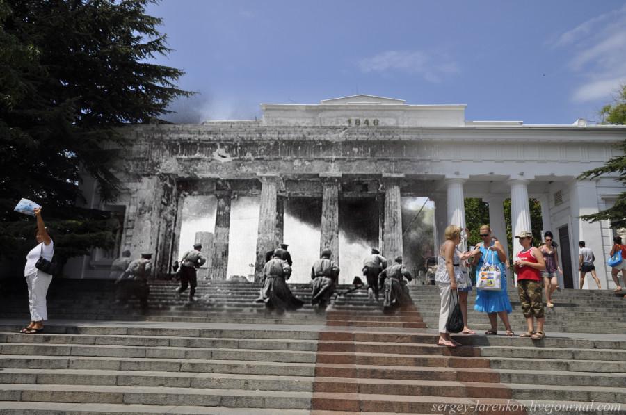 Севастополь 1944/2012 Штурм Графской пристани.