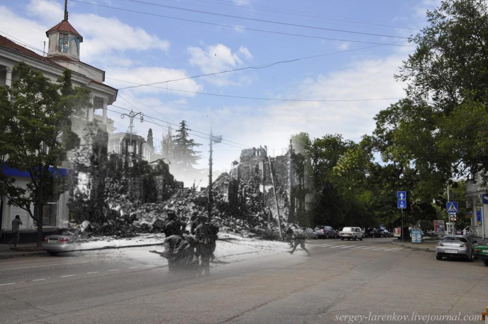 Севастополь 1944/2012 Бой на улице Ленина