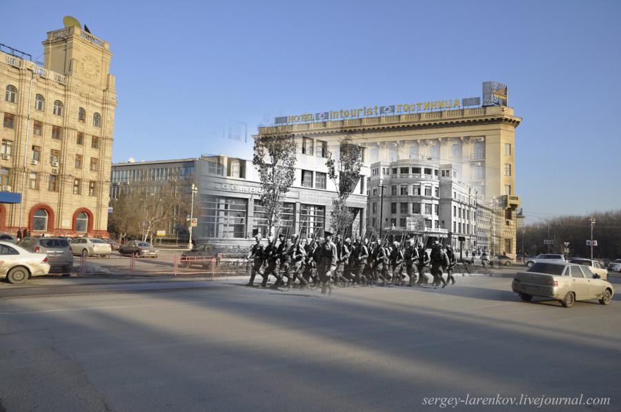 02. Сталинград 1942-Волгоград 2013. Угол гостиницы