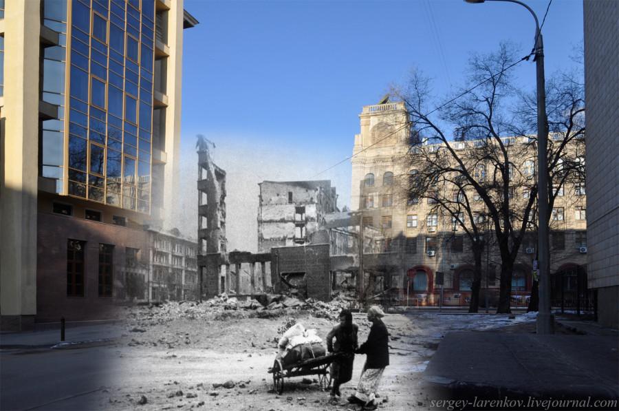05.Сталинград 1942-Волгоград 2013. Беженки с вещами