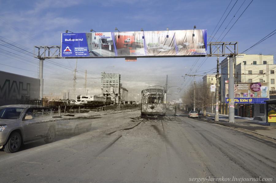 06.Сталинград 1942-Волгоград 2013. Трамвай у элеватора