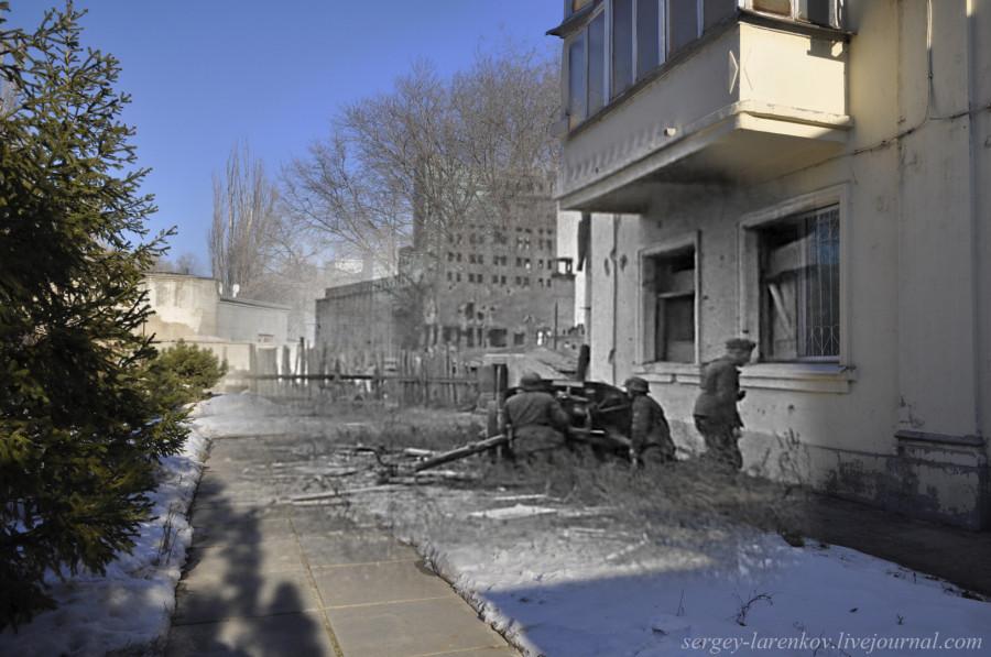07.Сталинград 1942-Волгоград 2013. Бой в районе элеватора