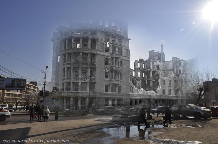 28.Сталинград 1943-Волгоград 2013.Дом коммунальщиков