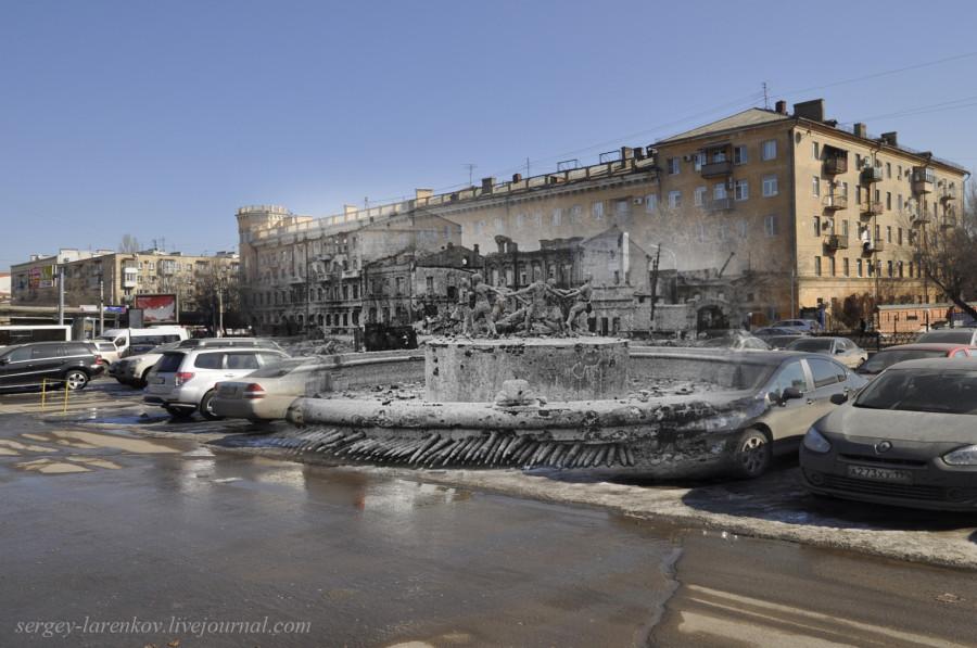 31.Сталинград 1943-Волгоград 2013. Фонтан Танцующие дети у вокзала
