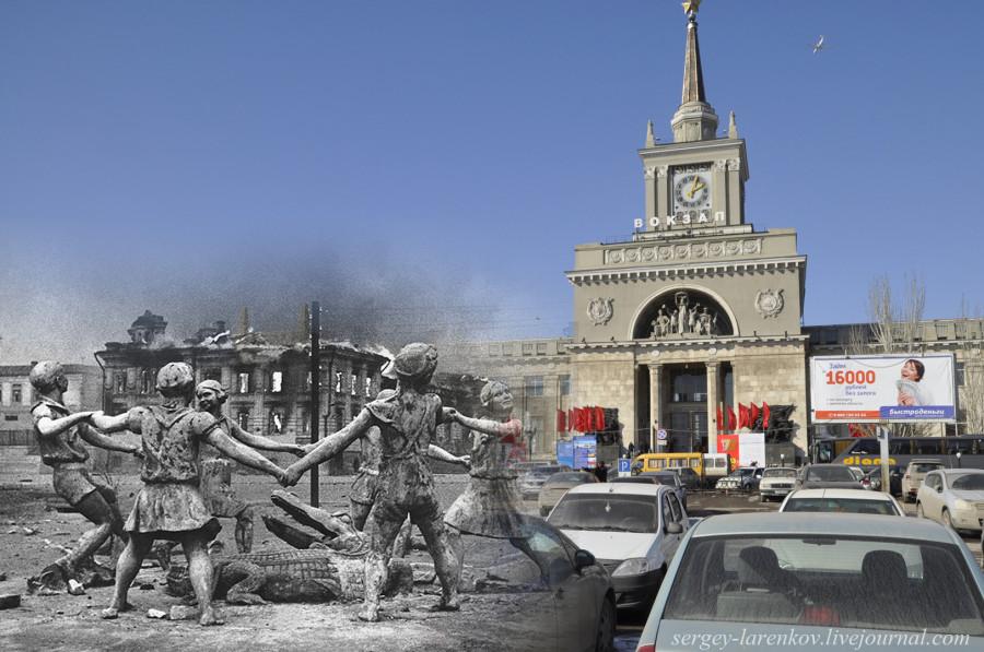 32.Сталинград 1943-Волгоград 2013. Фонтан Танцующие дети