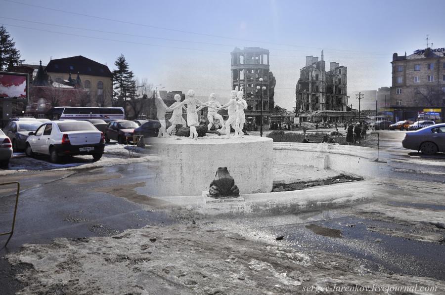 34.Сталинград 1943-Волгоград 2013. Фонтан Танцующие дети