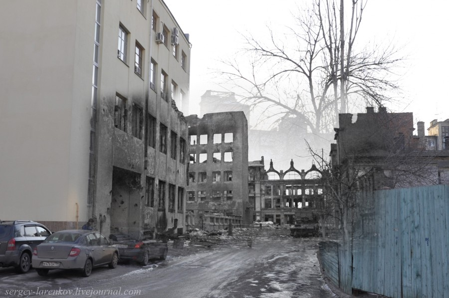 56.Сталинград 1943-Волгоград 2013. Пролеткультская улица