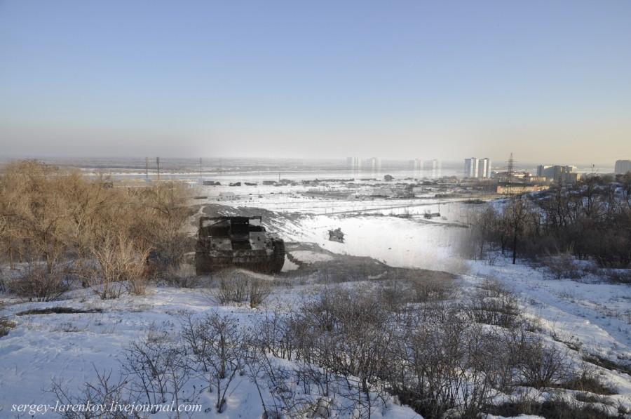57.Сталинград 1943-Волгоград 2013.Мамаев курган после боев
