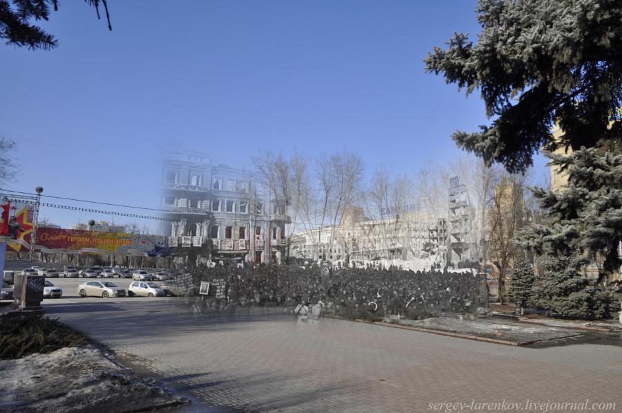 59.Сталинград 1943-Волгоград 2013.Митинг на площади Павших Бойцов