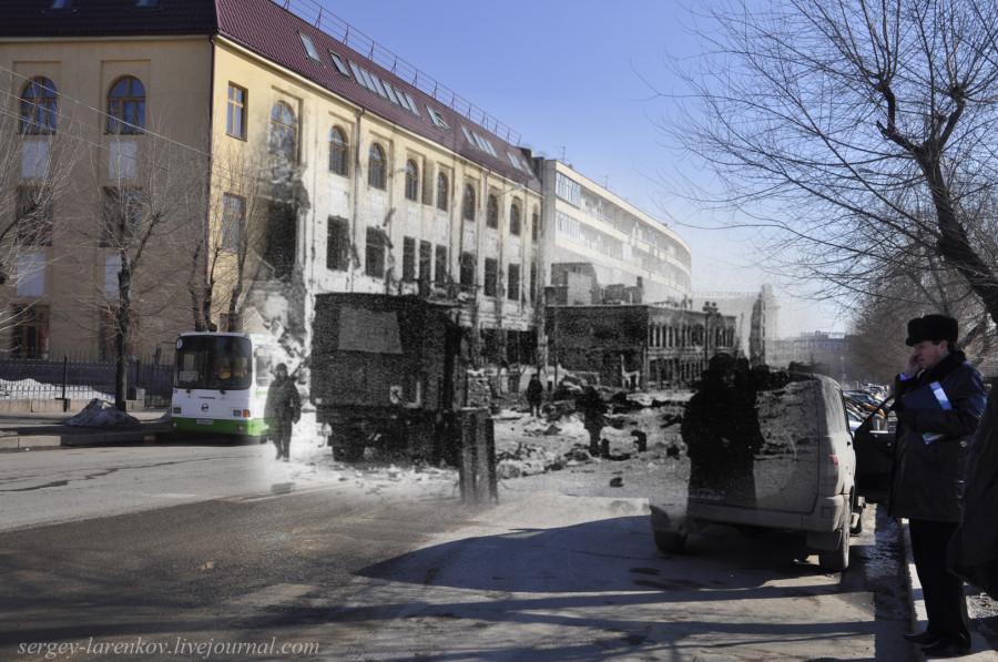 60.Сталинград 1943-Волгоград 2013. Улица Гоголя