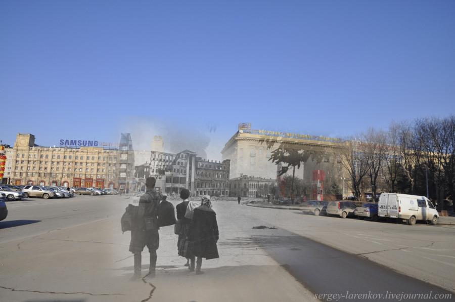 63.Сталинград 1945-Волгоград 2013. Возвращение в город