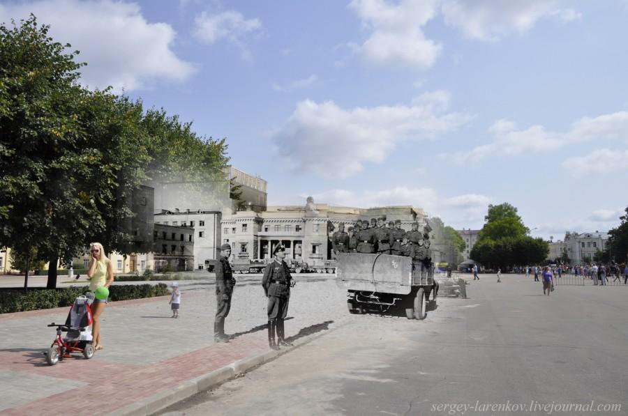 06.Смоленск 1941-2013 площадь Ленина
