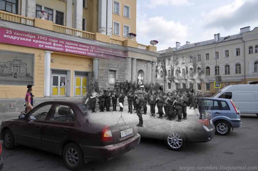 08.Смоленск 1941-2013 Большая Советская 30 немецкий оркестр