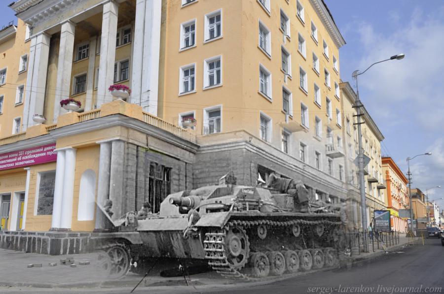 11.Смоленск 1941-2013 САУ ШТУРМГЕШУТЦ на Большой Советской