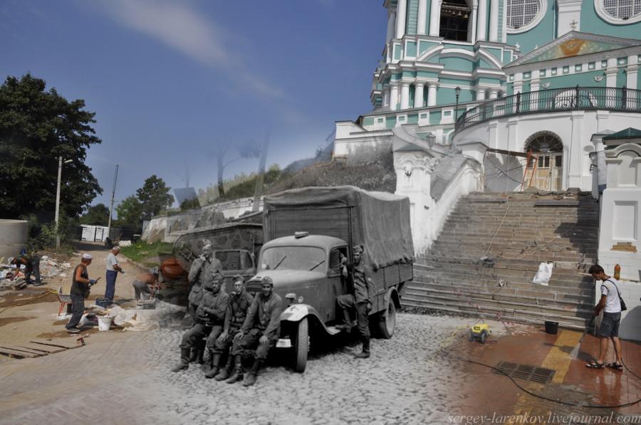 18.Смоленск 1941-2013 Гитлеровцы у Собора
