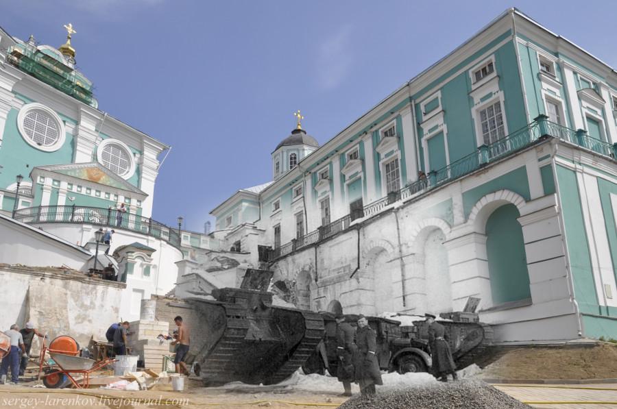 23.Смоленск 1941-2013 у танков ПМВ