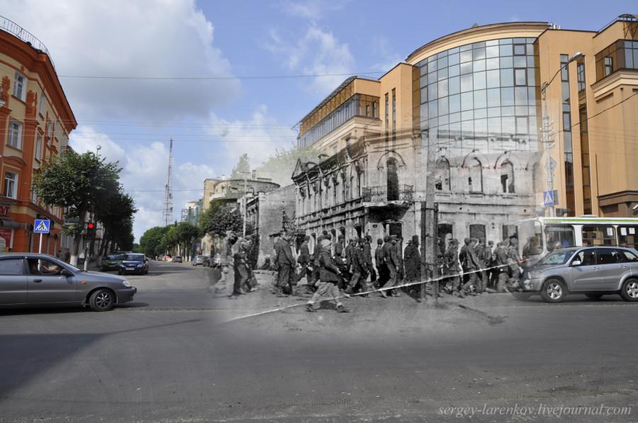 28.Смоленск 1943-2013 Большая Советская немецкие пленные