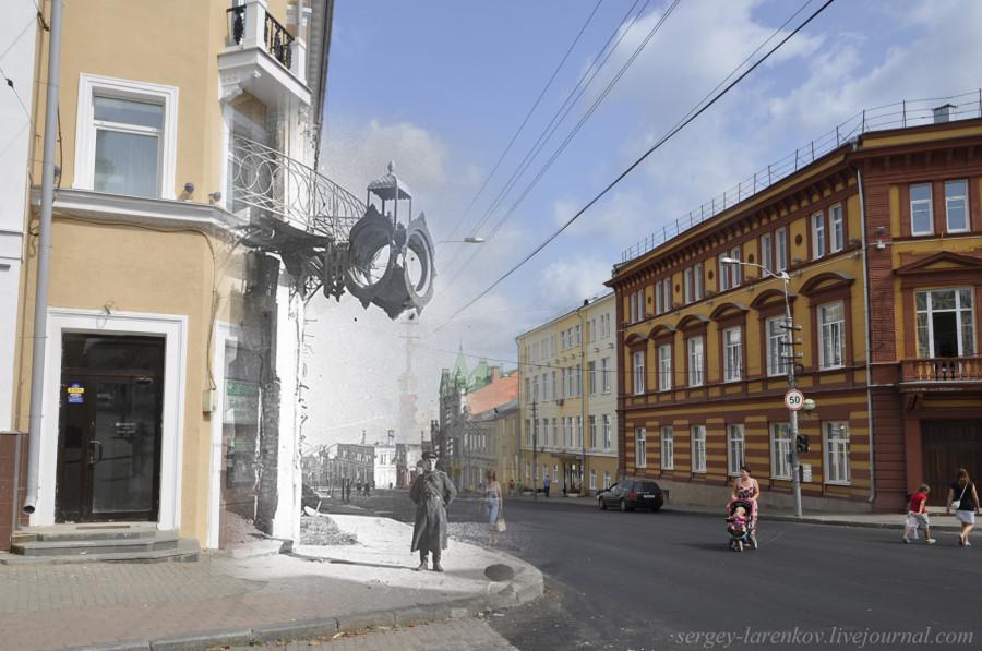 33.Смоленск 1943-2013 Большая Советская 16 у часов