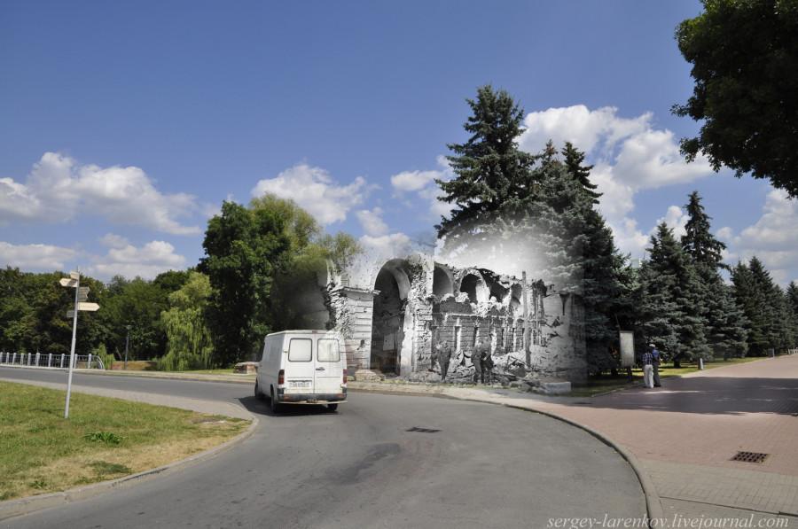15. Брест 1941-2013 Трехарочные ворота sl