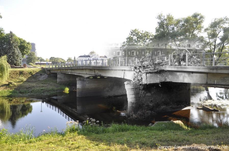 13. Брест 1941-2013 Мост у Трехарочных ворот sl