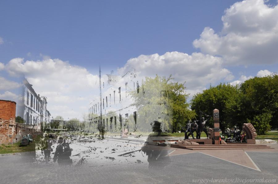 11. Брест 1941-2013 Немцы у казармы 333 СП SL