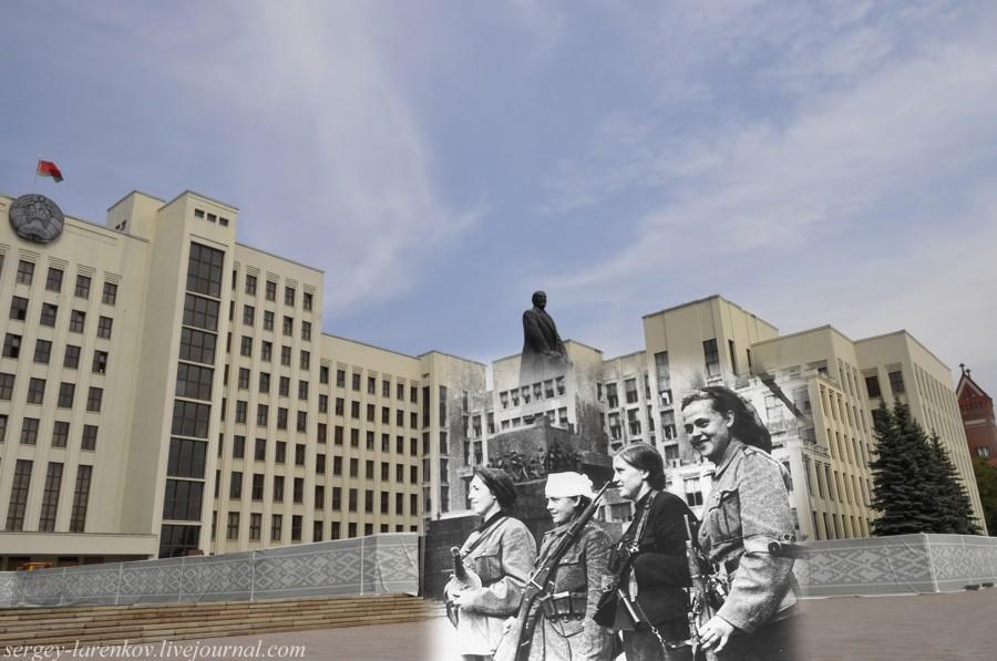 39.Минск 1944-2013 Площадь Свободы. ПартизанкиSL