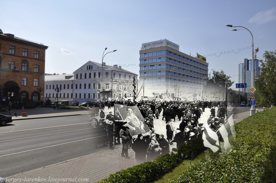22.Минск 1943-2013 Митинг колаборационистовSL