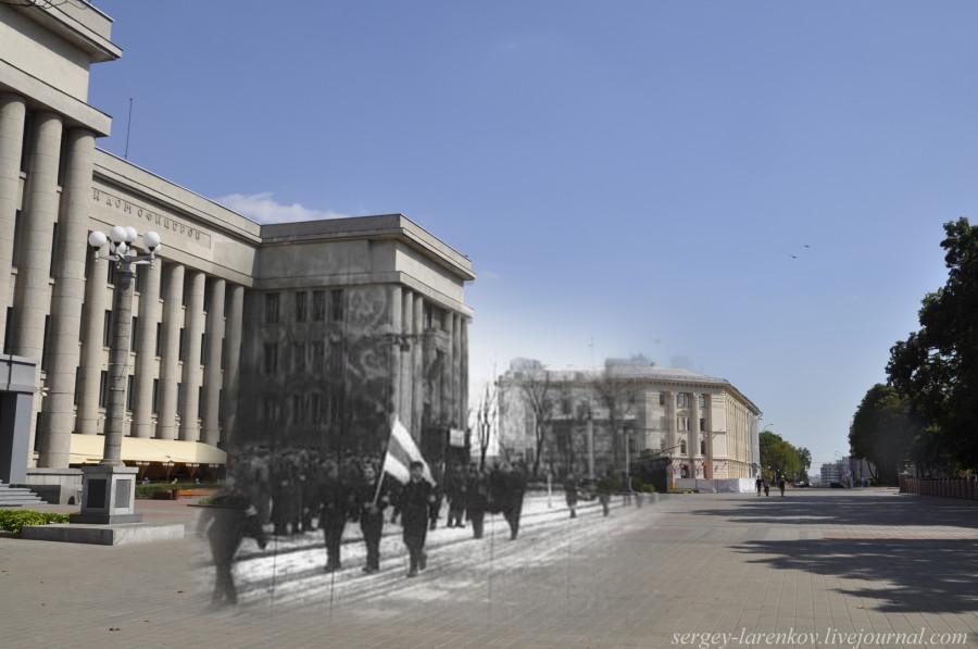 20.Минск 1943-2013 Коллаборационисты у Дома офицеровSL